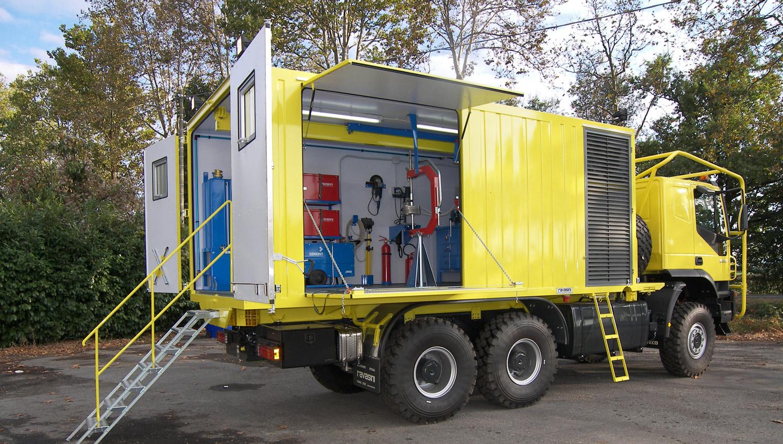 allestimento officine mobili attrezzate su furgone