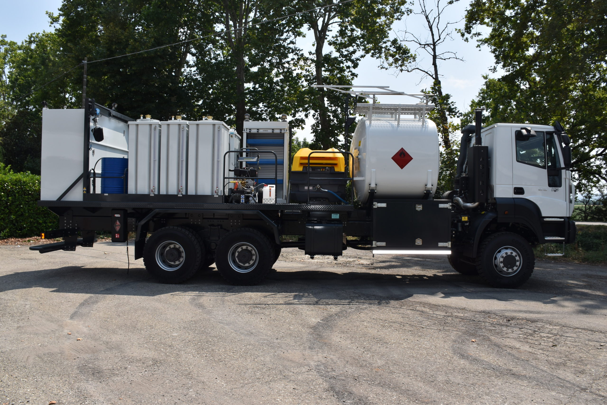 Lubricating_ units__on_truck